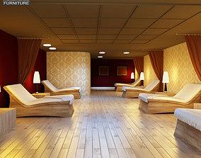 3D model Rest Room 01 Set