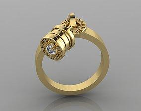3D printable model Ring Bvlgari