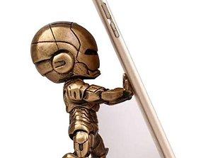 phone Holder Iron man 3D printable model