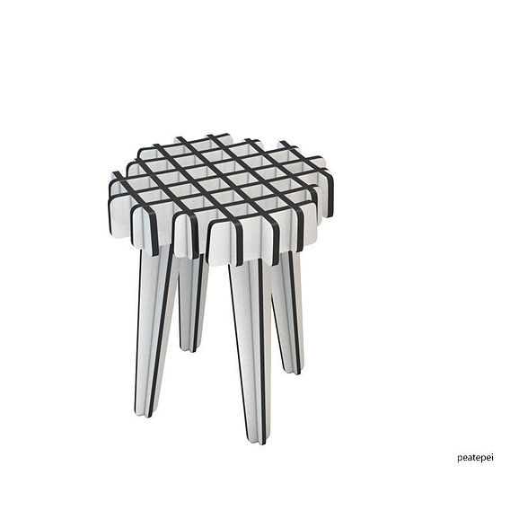 Lattice Stool