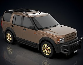 Land Rover Discovery Discovery 3 LR3 3D asset