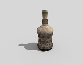 low poly medieval rum 3D asset
