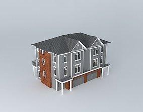Hiddenbrooke Townhomes Plan B 3D model