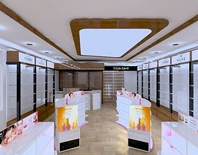 3D pharmacy interior desgin