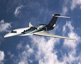 Cessna Citation Longitude business jet 3D