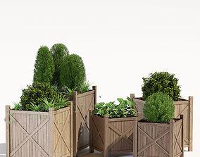 3D model Porth cube planter