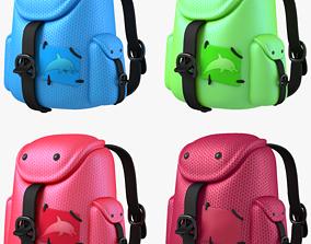 3D model Back Pack in All Colors