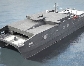navy 3D USNS Spearhead JHSV-1