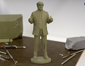 Donald Trump 3d Print Statue usa