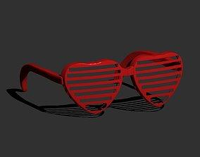 Heart Sunglasses 3D print model