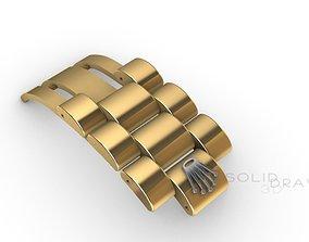 Chain bracelet clasp rolex printable 3d design