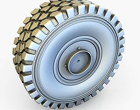Mowag Piranha V wheel 3D