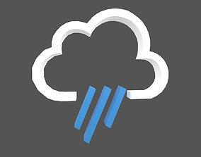 Weather Symbol v6 001 3D model