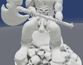 3D printable model Ogre figurine