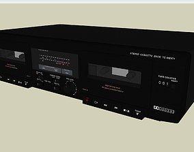3D Dual Cassette Tape Deck - Sony TCWE471