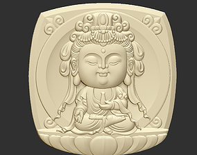 3D printable model Baby Kwanyin Bodhisattva