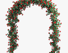 3D Rose Arch