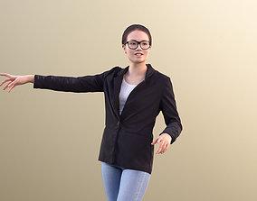Laura 10706 - Business Woman Presentation 3D model