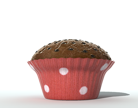 Muffin 3D pastry
