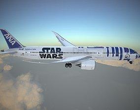 Boeing 787 Dreamliner Star Wars 3D model