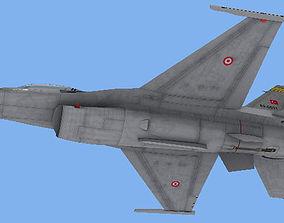 F-16C TuAF Turkish air force 3D model