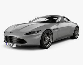 3D model Aston Martin DB10 with HQ interior 2015