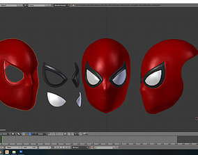 3D printable model spiderman Normal Faceshell