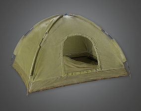 3D asset Military Tent 12 - MLT - PBR Game Ready