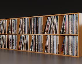 Vinyl Storage PBR 3D