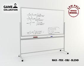 Whiteboard 2 3D model