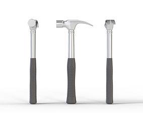 costruction Claw Hammer 3D model