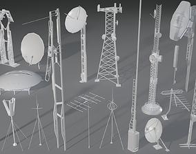 Antennas - 19 pieces - part -4 3D model