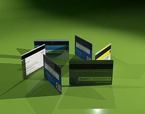 3D printable model Visa card