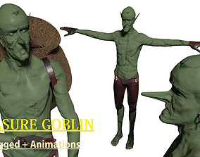 Goblin Animated Game Ready Character Enemy 3D asset 2