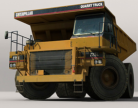Dumper Truck 3D model