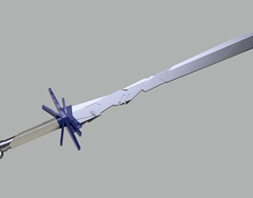 3D printable model Cerebro Sword