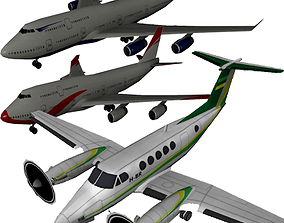 Pack Aircraft 3D VR / AR ready