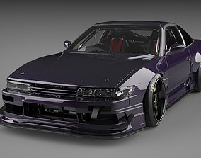 Nissan 180SX RB Drift nissan 3D model