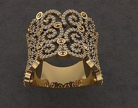 3D print model jewel Fantasy Ring