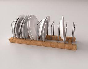 3D Plate Rack v2