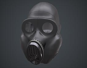 3D model PBF Homyak USSR gas mask black