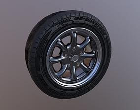 Classic wheel R15 3D model