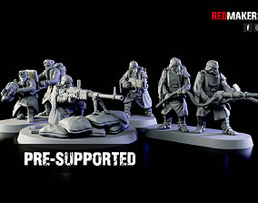 3D print model Special weapons teams - Death Squad of 2