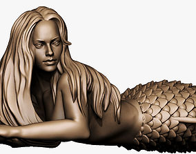 Mermaid 3D print model