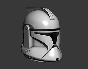 Phase 1 Clone Trooper Cosplay Helmet 3D print model