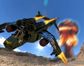 3D asset Valkyrie Warhammer 40000