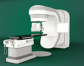 3D model Varian TrueBeam Radiotherapy