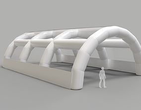 3D model Inflatable Tent - Exhibition Hall