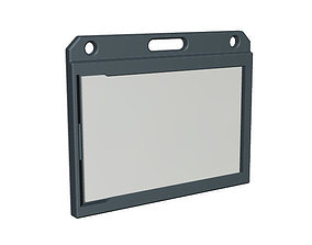 3D printable model ID Card holder