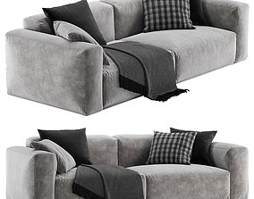 3D model Bolton sofa by Poliform